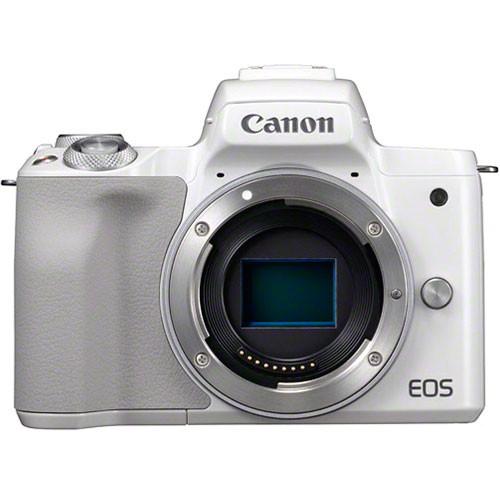 Canon EOS M50 Gehäuse weiß - Frontansicht