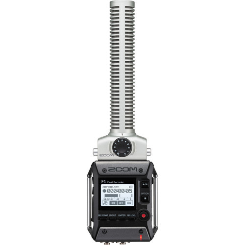 Zoom F1-SP Field Audio Recorder mit SGH6 Shotgun Mikrofon