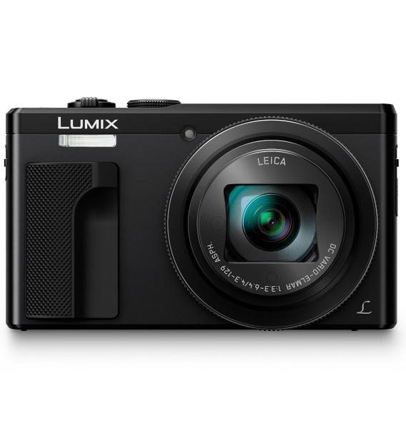 Panasonic Lumix DMC-TZ81 schwarz - Frontansicht