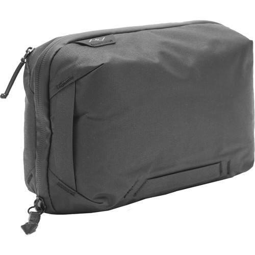 Peak Design Travel Tech Pouch Tasche schwarz - Schrägansicht