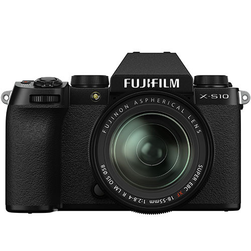 Fujifilm X-S10 Kit mit XF 18-55mm f/2.8-4.0 Objektiv