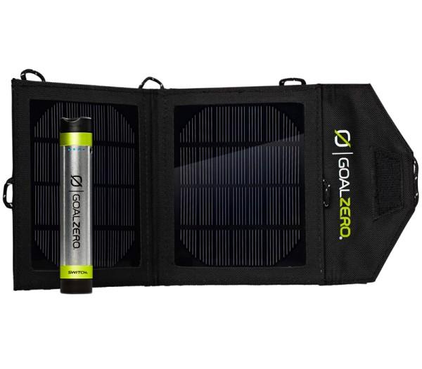 Goalzero Switch 8 Solar Ladegerät Kit - Frontansicht