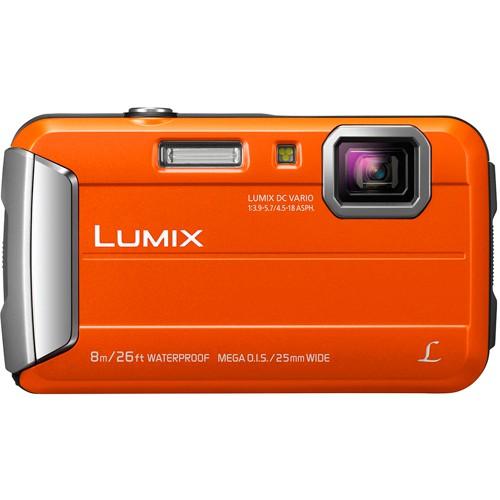 Panasonic Lumix DMC-FT30 orange - Frontansicht