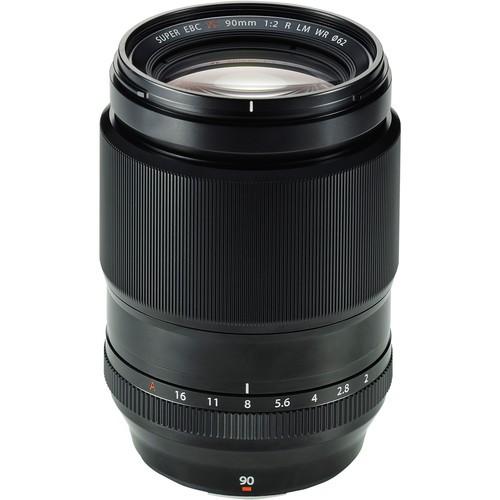 Fujifilm XF 90mm f/2 R LM WR - Frontansicht