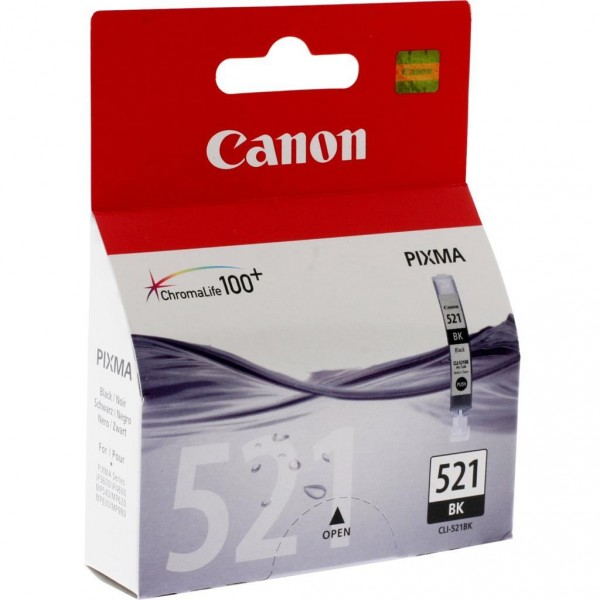 Canon CLI-521 BK Tintenpatrone schwarz