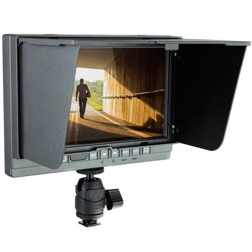 F&V F3 7 Zoll HDMI LCD-Field-Monitor mit Fokus-Peaking - Frontansicht