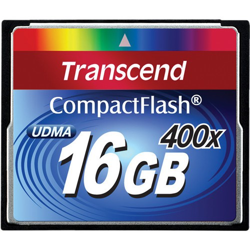Transcend CF 16GB Extreme Speed 400x - Frontansicht