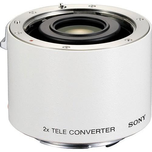 Sony A Telekonverter 2.0x weiss - Frontansicht