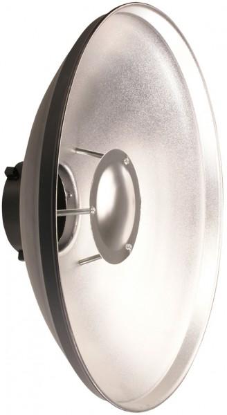 """Helios Reflektor 40cm """"Beauty Dish"""" - Seitenansicht"""