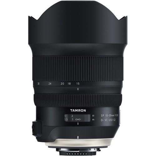 Tamron SP 15-30mm f/2.8 Di VC USD G2 Objektiv für Nikon - Frontansicht