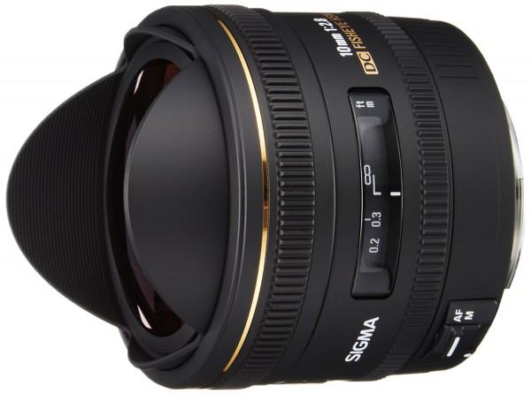 Sigma AF 10mm f/2.8 EX DC Diagonal-Fisheye HSM Objektiv für Canon