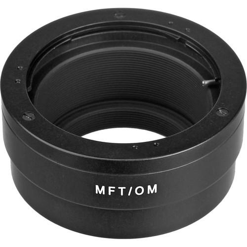 Novoflex Adapter MFT auf OM - Frontansicht