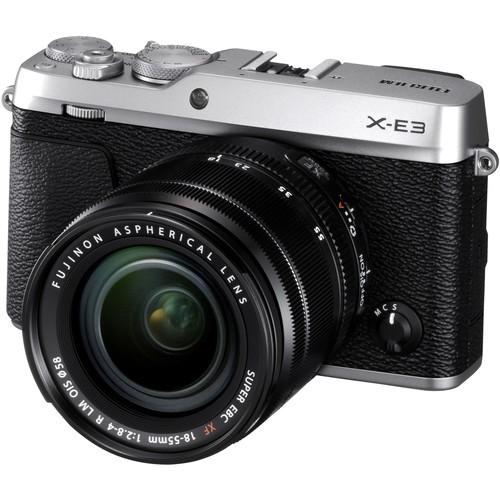 Fujifilm X-E3 Kit - Schrägansicht