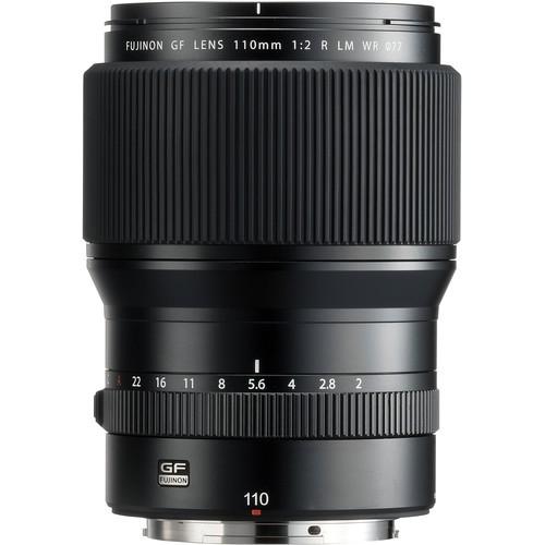 Fujifilm GF 110mm f/2 LM WR Objektiv - Frontansicht