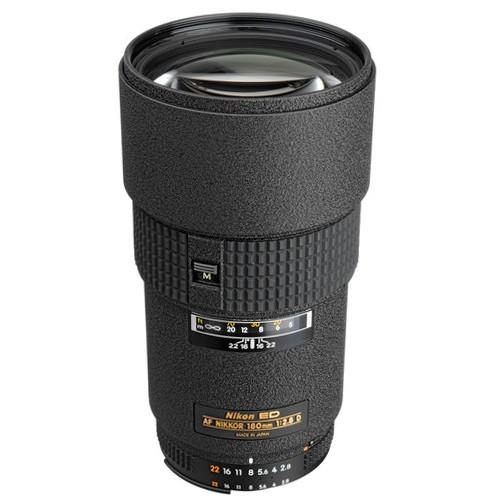 Nikon AF 180mm f/2.8D IF-ED Objektiv - Frontansicht