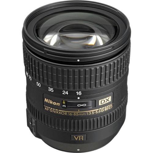 Nikon AF-S DX Nikkor 16-85mm f/3.5-5.6 G ED VR Objektiv