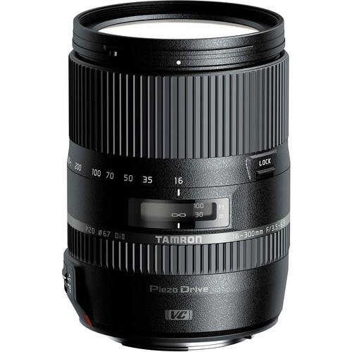 Tamron AF 16-300mm f/3.5-6.3 Di II VC PZD Makro Objektiv für Nikon