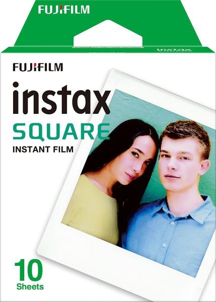Fujifilm Instax Square SQ10 Sofortbildfilm - Frontansicht