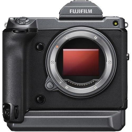 Fujifilm GFX 100 Mittelformat Systemkamera - Frontansicht