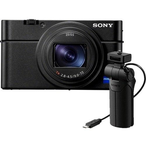 Sony Cyber-Shot DSC-RX100 VII inkl. VCT-SGR1 Griff (Vlogger Kit)