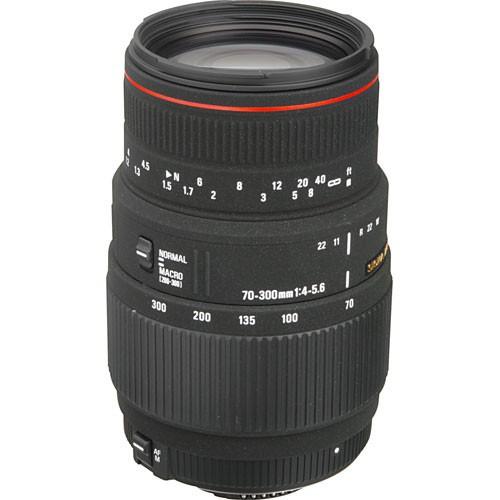 Sigma 70-300mm f/4-5.6 DG APO Objektiv für Nikon