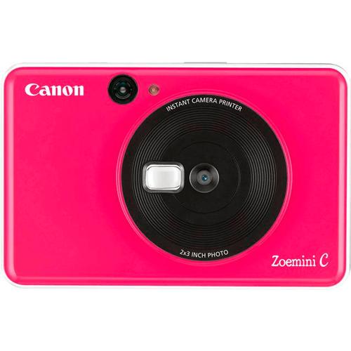Canon Zoemini C Sofortbildkamera pink - Frontansicht