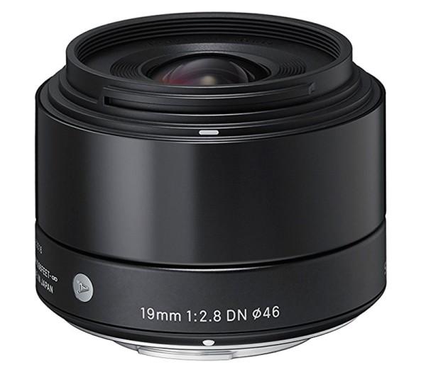 Sigma 19mm f/2.8 DN Art Objektiv - Frontansicht