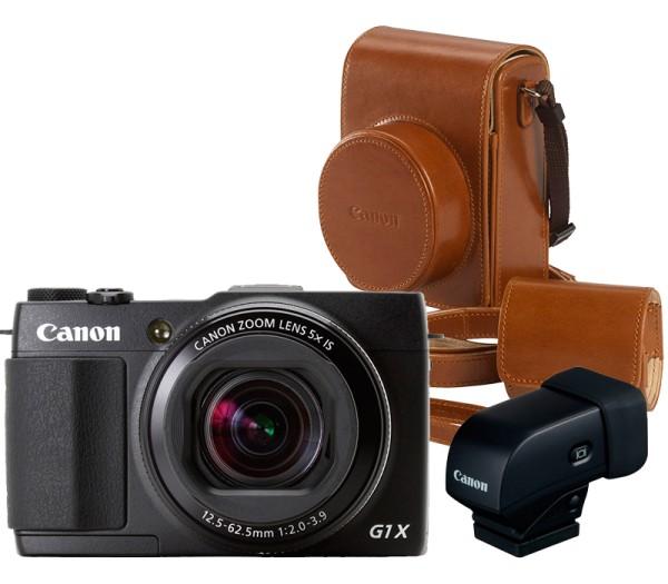 Canon PowerShot G1 X Mark II Premium Kit