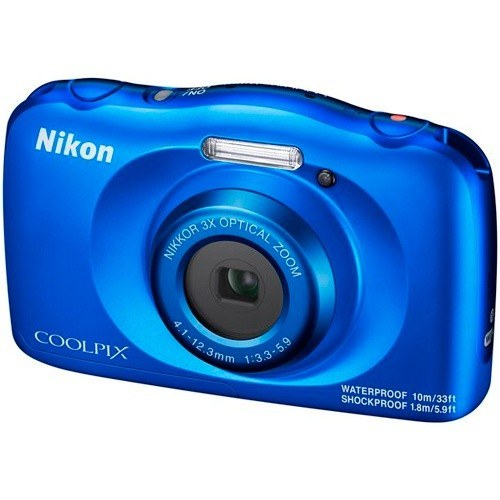 Nikon Coolpix W150 blau - Frontansicht