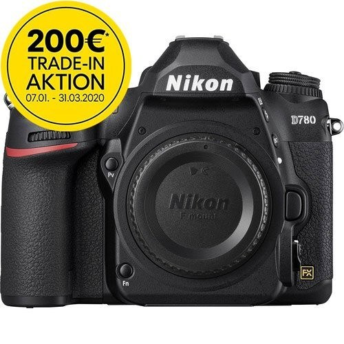 Nikon D780 Gehäuse - Frontansicht