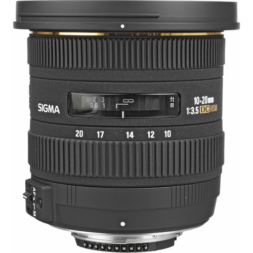 Sigma 10-20mm f/3.5 EX DC HSM Objektiv für Canon