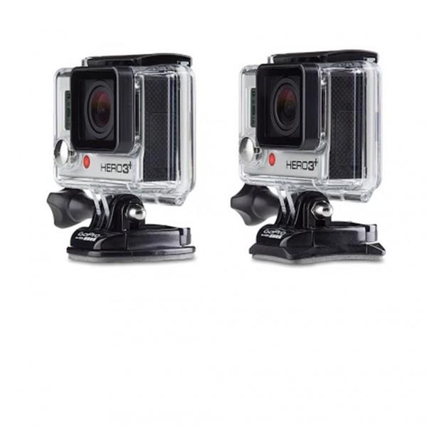 GoPro gebogene und flache Klebehalterungen
