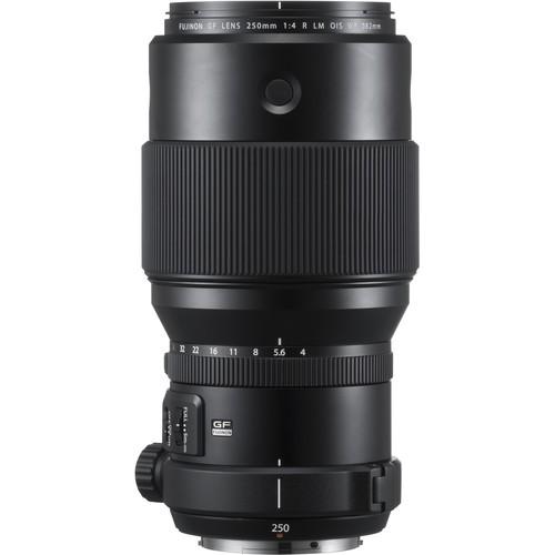 Fujifilm GF 250mm f/4.0 R LM WR OIS - Frontansicht
