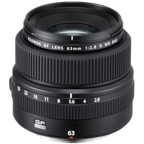 Fujifilm GF 63mm F2.8 R WR - Frontansicht