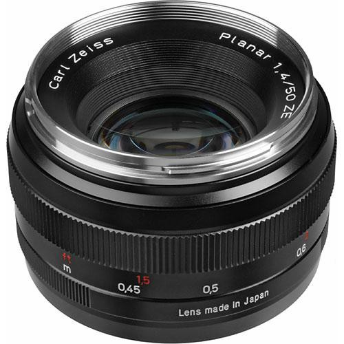ZEISS Planar T* 50mm f/1.4 ZE Objektiv für Canon