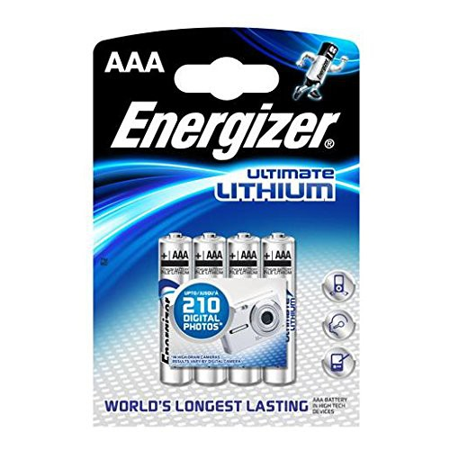 Energizer Batterie AAA Micro L92 1,5V 4er Pack Lithium