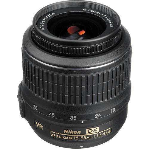 Nikon AF-P DX Nikkor 18-55mm f/3.5-5.6 G VR Objektiv