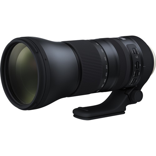 "Tamron AF 150-600mm F5-6.3 DI VC USD ""G2"" für Sony - Frontansicht"