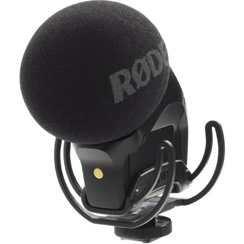 Rode Stereo VideoMic Pro Rycote Stereomikrofon - Frontansicht