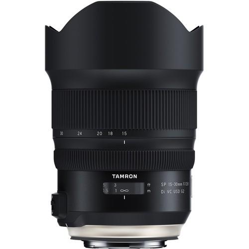 Tamron SP 15-30mm f/2.8 Di VC USD G2 Objektiv für Canon - Frontansicht