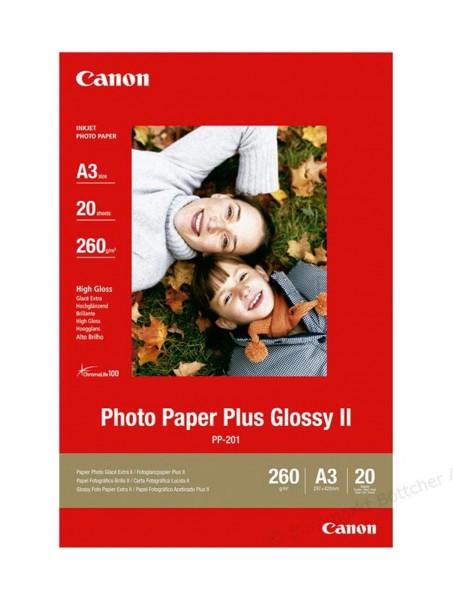 Canon PP-201 Fotopapier A3+ 20 Blatt (270g/qm)