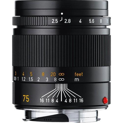 Leica Summarit-M 75mm f/2.5 ASPH. Objektiv 11645 (Austeller)