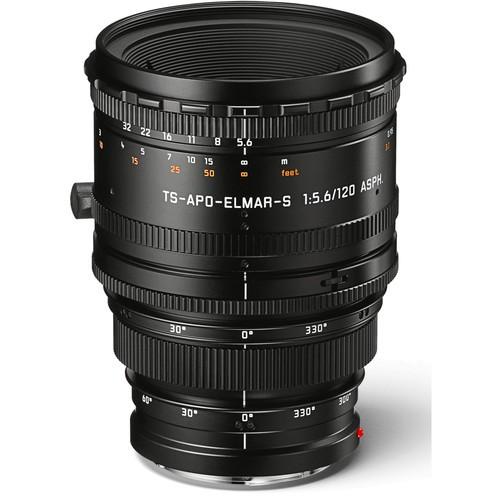 Leica 120mm f/5.6 TS-APO-Elmar-S ASPH. Objektiv (11079) - Frontansicht