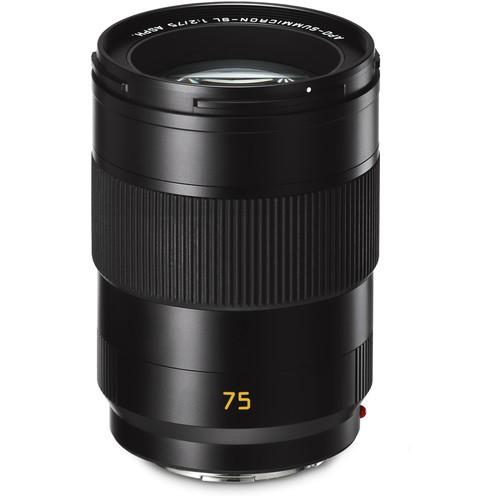 Leica APO-Summicron-SL 75mm f/2 ASPH. Objektiv - Frontansicht