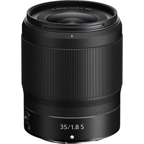 Nikon Z 35mm f/1.8 S Objektiv - Frontansicht