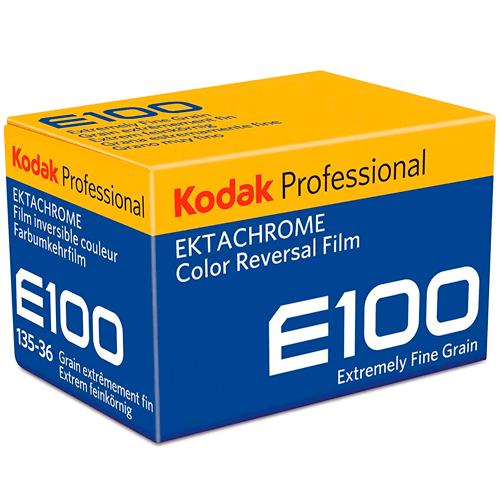 Kodak Ektachrome 100 135/36 Kleinbildfilm - Schrägansicht
