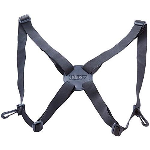 Steiner Harness Komfort-Tragegurt für Ferngläser - Frontansicht