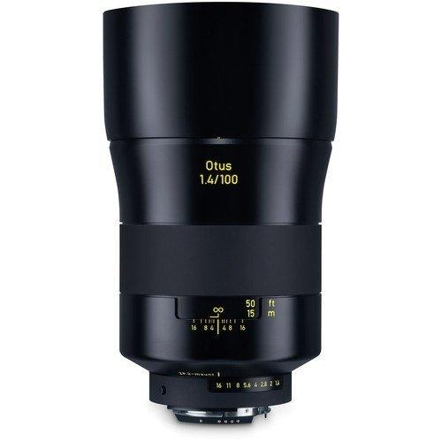 ZEISS Otus 100mm f/1.4 Objektiv für Nikon ZF.2 - Frontansicht