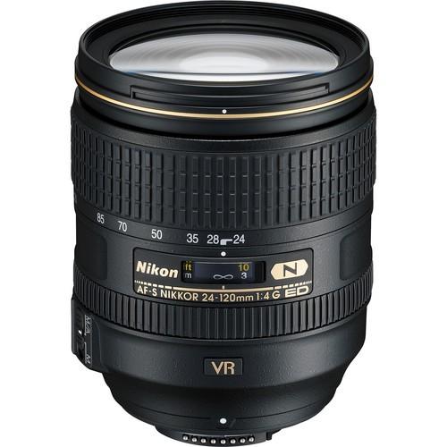 Nikon AF-S Nikkor 24-120mm f/4 G ED VR Objektiv