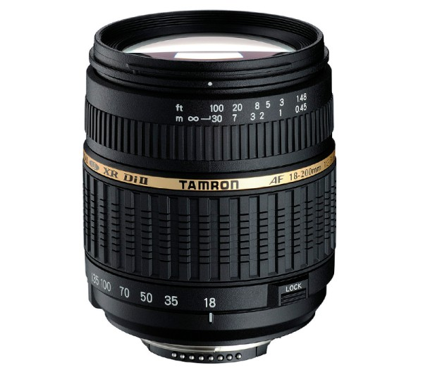 Tamron AF 18-200mm f/3.5-6.3 XR Di II Objektiv für Nikon